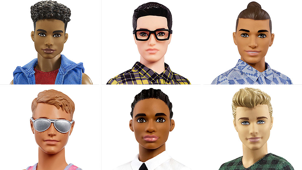 Ken gets makeover: Cornrows, beefy bod and new skin tones