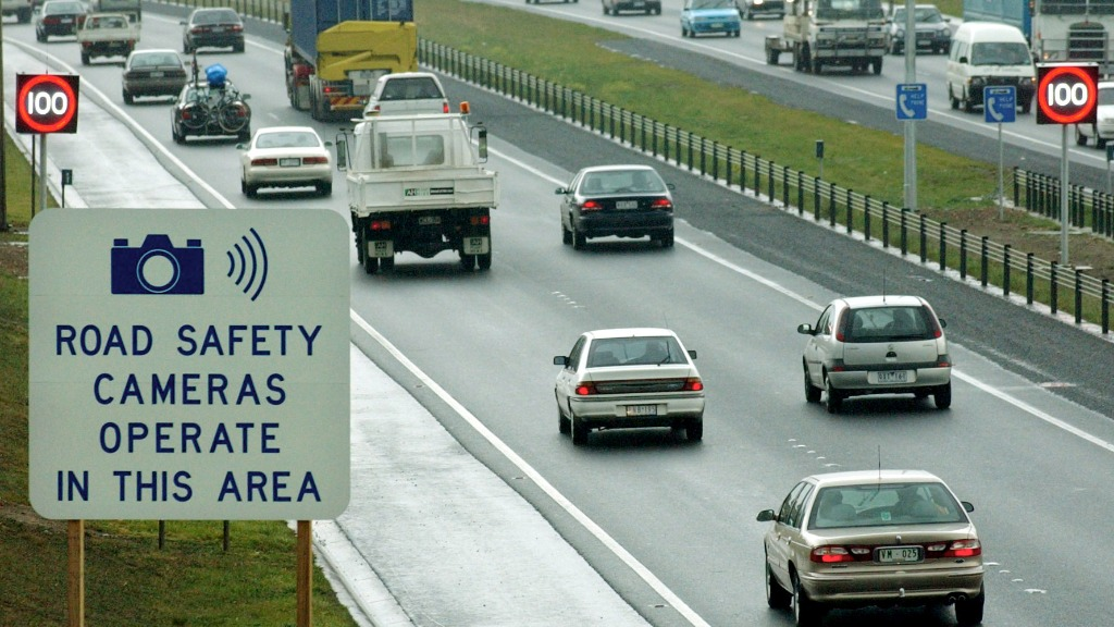 More than 50 speed and red light cameras in the state have been affected by the malware. (AAP)