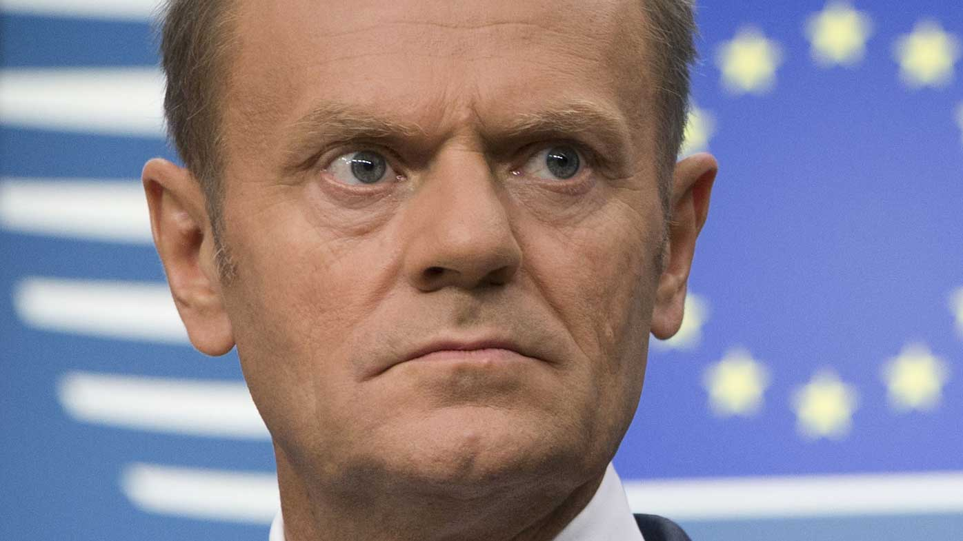 Tusk slams May's offer on expat rights
