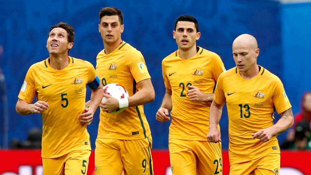 Australia face nervous wait for World Cup fate after 2-1 win
