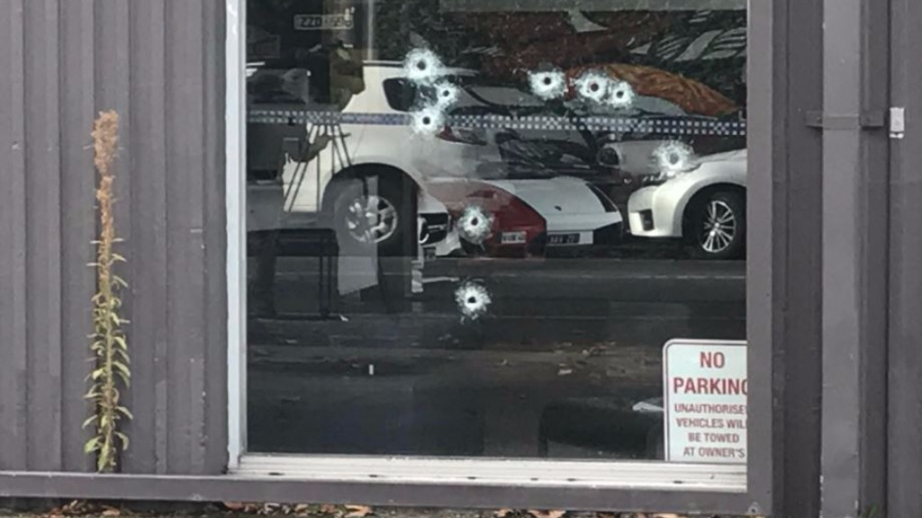 Shots fired into luxury Melbourne car dealership