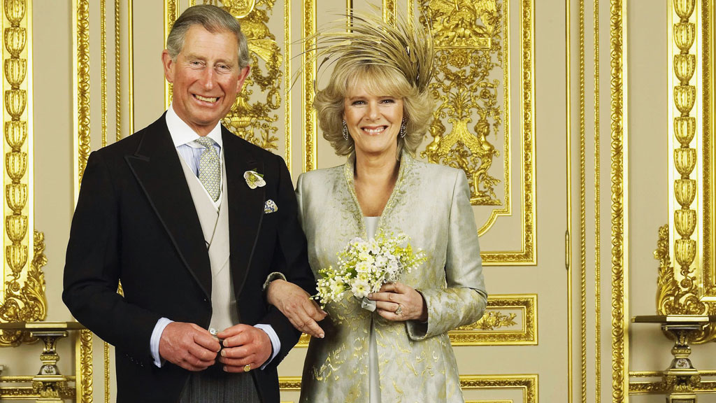 Camilla 'paralysed with fear' the day she married Charles