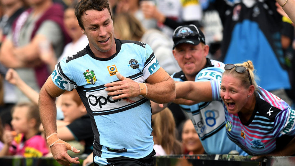 Knights coach Nathan Brown admits interest in James Maloney