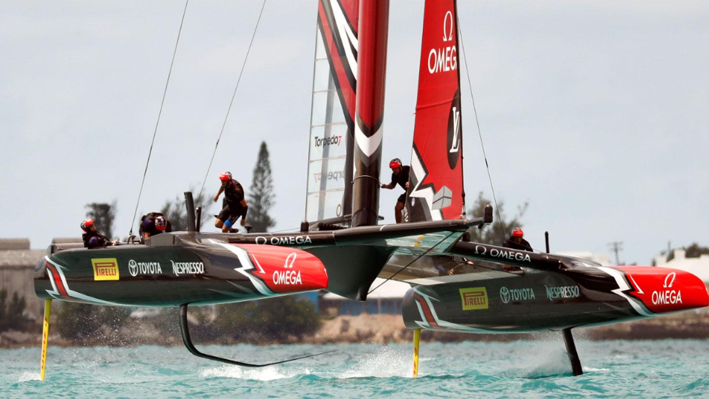 Team USA to hand back Auld Mug to Team New Zealand