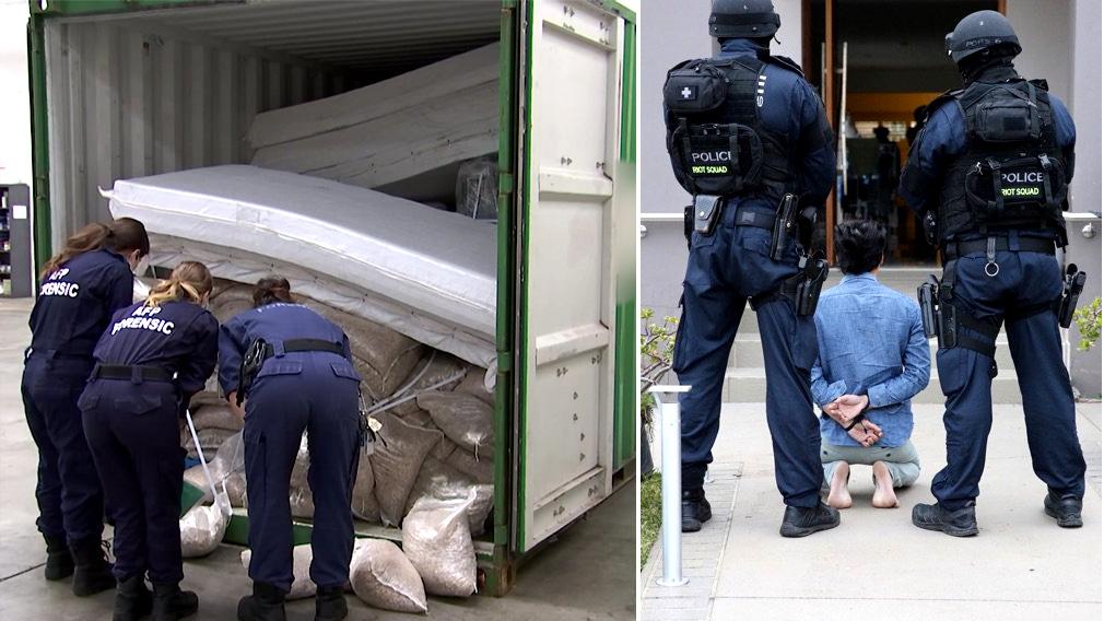 Armed police swoop on massive NSW bikie drug ring