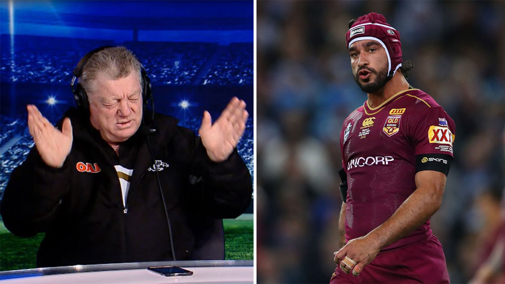 Phil Gould and Johnathan Thurston.