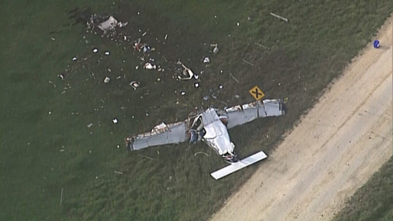 Three dead in light plane tragedy