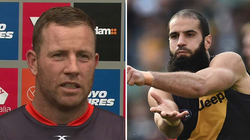 Bachar Houli and Steve Johnson