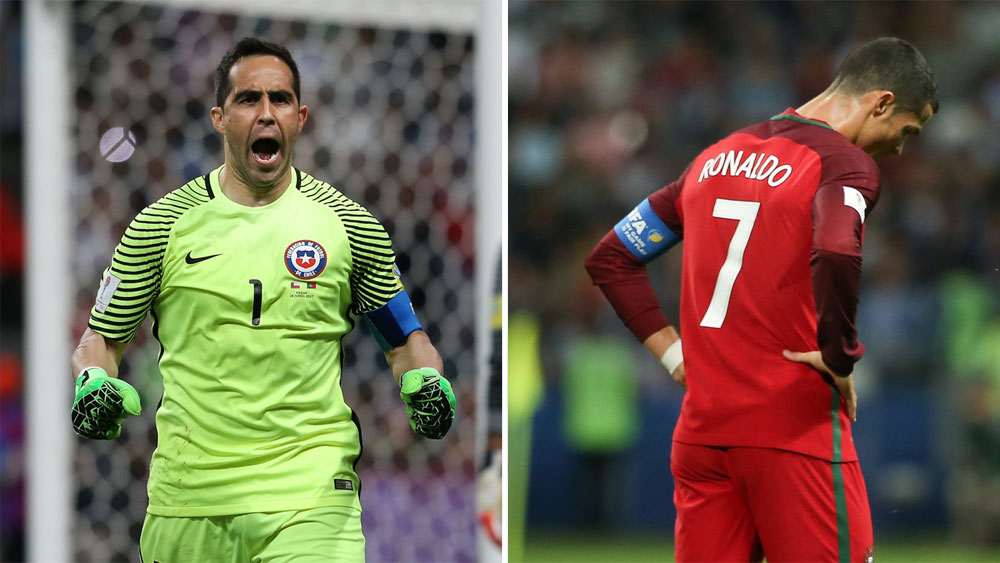 Goalkeeper Claudio Bravo penalty heroics put Chile into Confederations Cup final