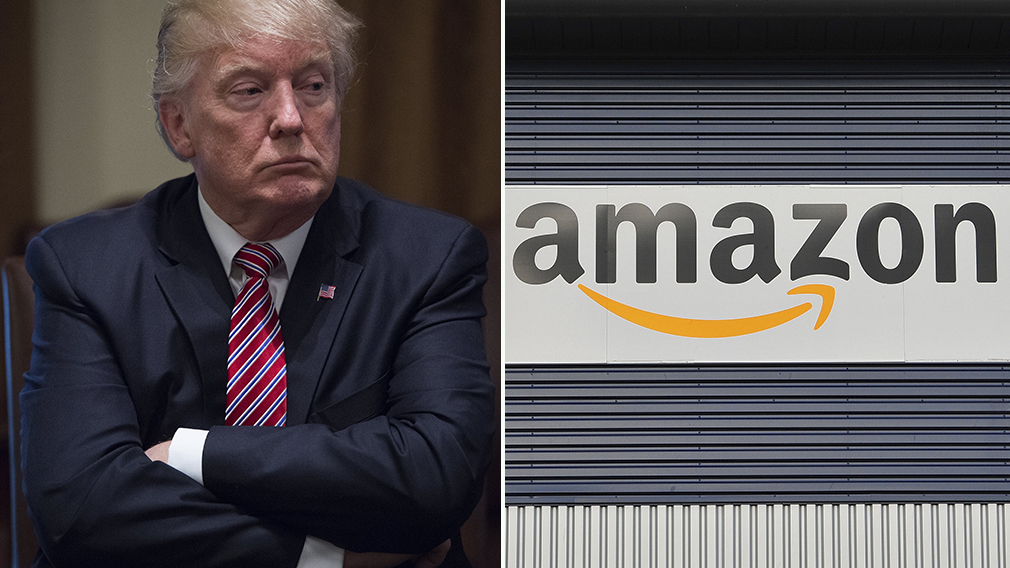 Donald Trump accuses Amazon of not paying 'internet taxes'