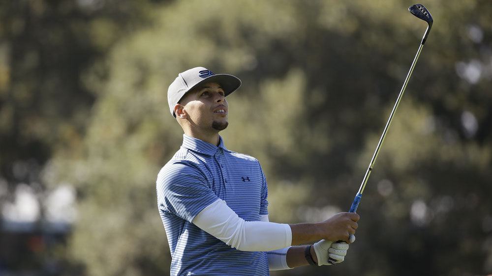 NBA star Curry to play in pro golf event