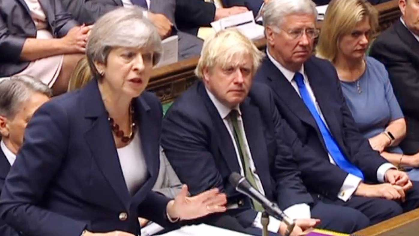 May prevails in major parliamentary test
