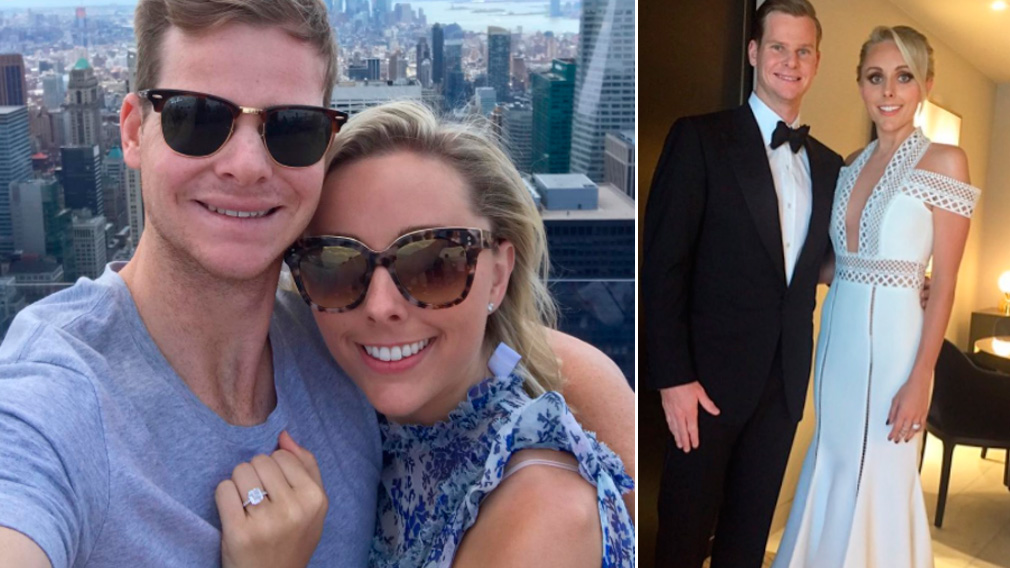 Australian cricket captain Steve Smith gets engaged to Dani Willis
