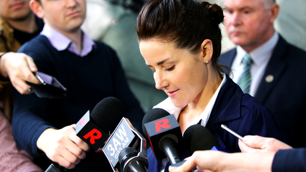 Melbourne Cup winner Michelle Payne slapped with suspension