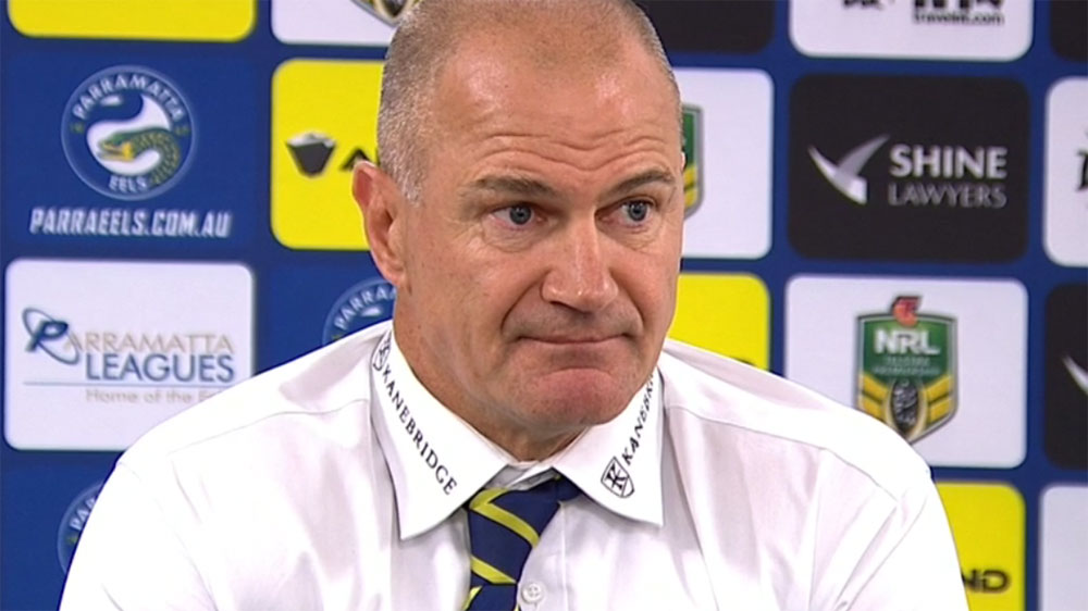Parramatta coach Brad Arthur hails Moses after Eels' victory over Canterbury Bulldogs