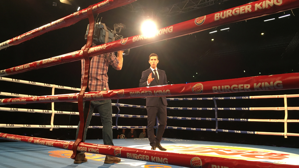 Rob Morrison and cameraman Tom Pawson spent a week with Jeff Horn's camp. (Rob Morrison)