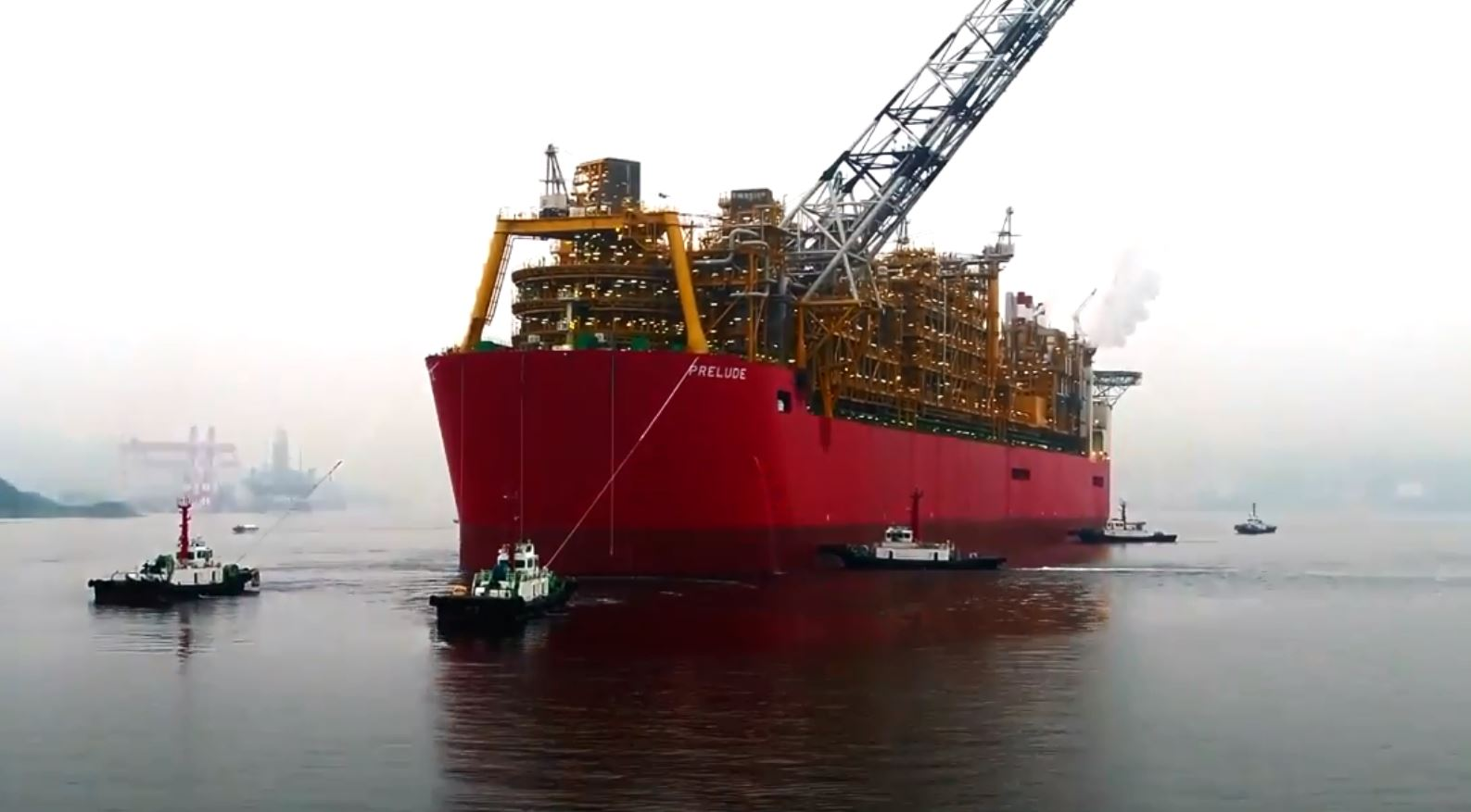 World's biggest floating gas facility arriving in WA