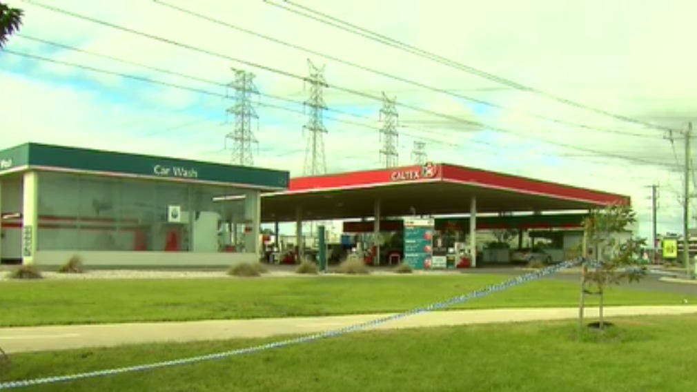 Mr Burnett was fatally stabbed at a service station in Kealba. (9NEWS)