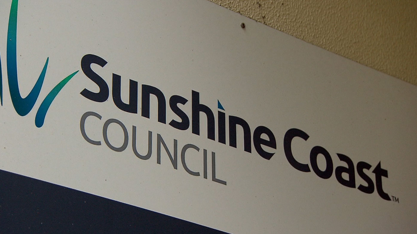 The Sunshine Coast Council has threatened Mr Paulger with a $180,000 fine.