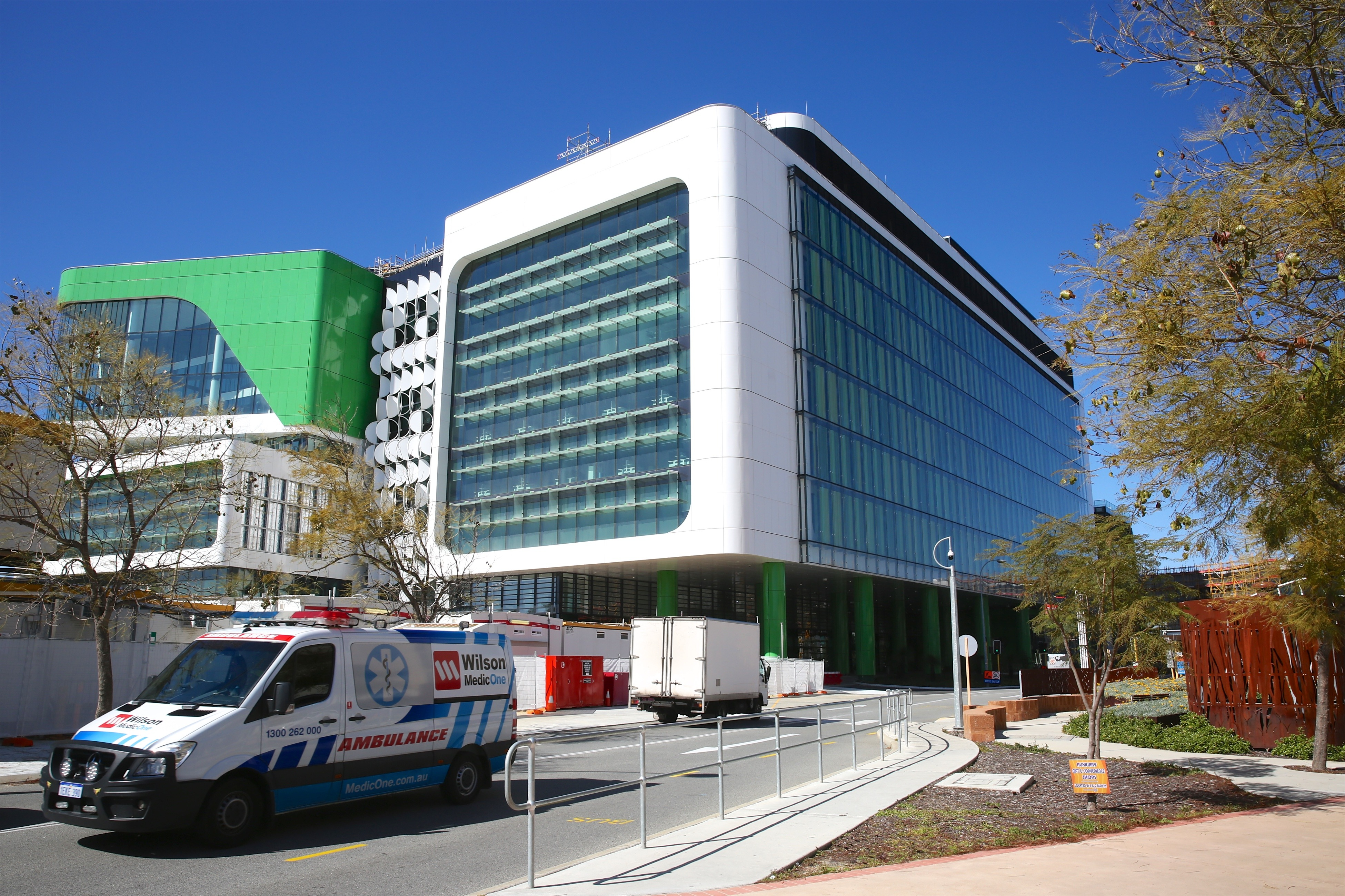 Perth Children's Hospital may not open this year with lead still in drinking water