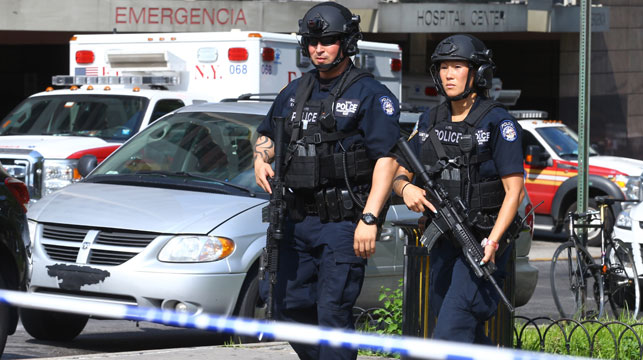 Doctor dead after shooting staff at New York hospital shooting