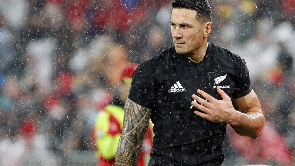 Sonny Bill Williams was sent off in the Test against the British and Irish Lions. (AAP)