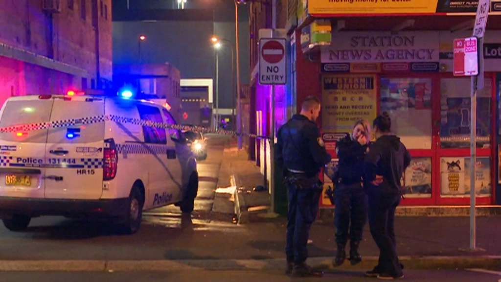 Man fighting for life after Sydney brawl