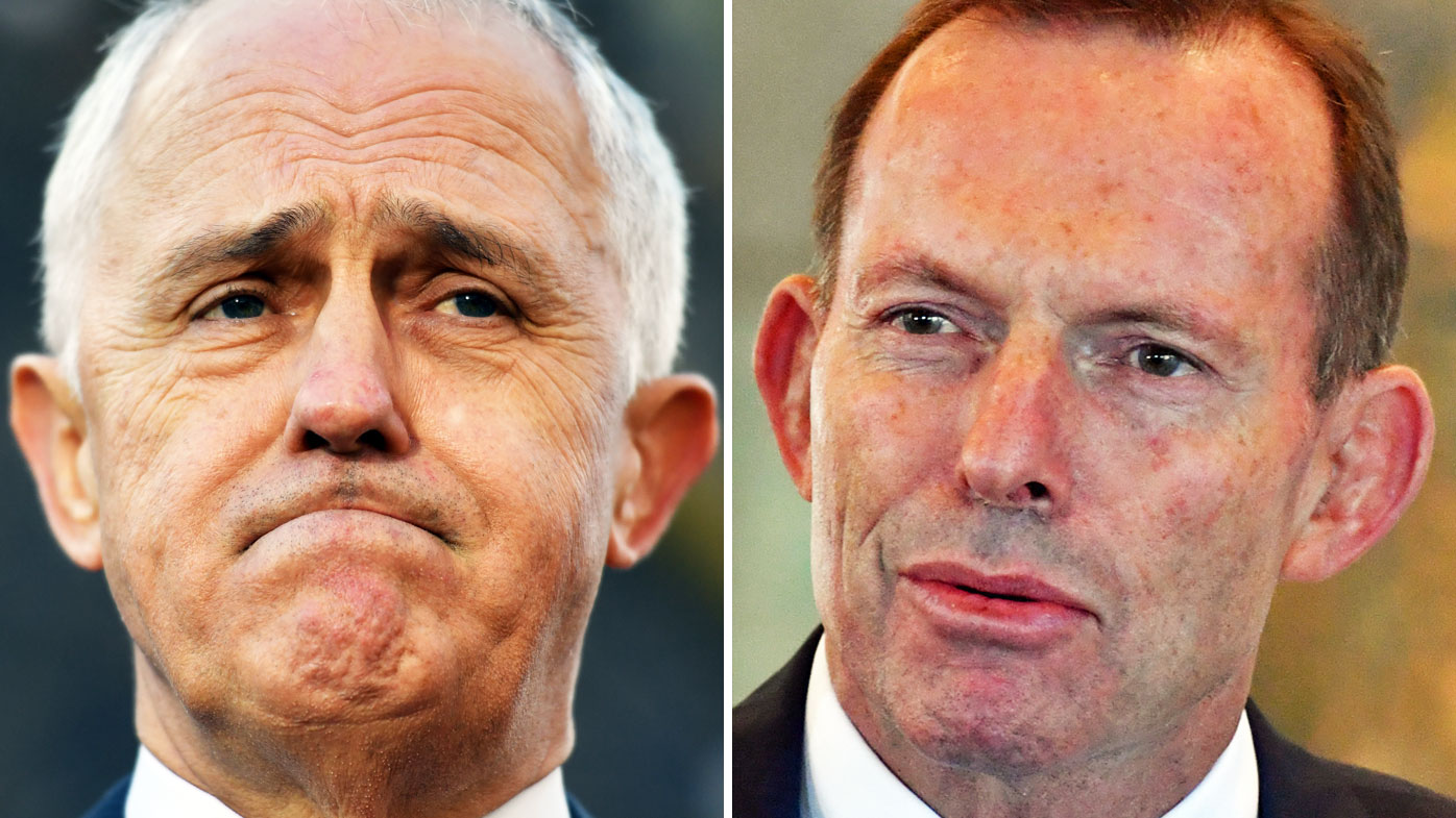 Malcolm Turnbull and Tony Abbott are continuing their war in the media