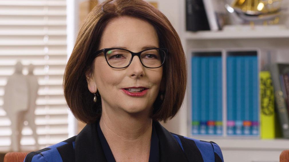 Julia Gillard is the new chair of Beyond Blue. (AAP)