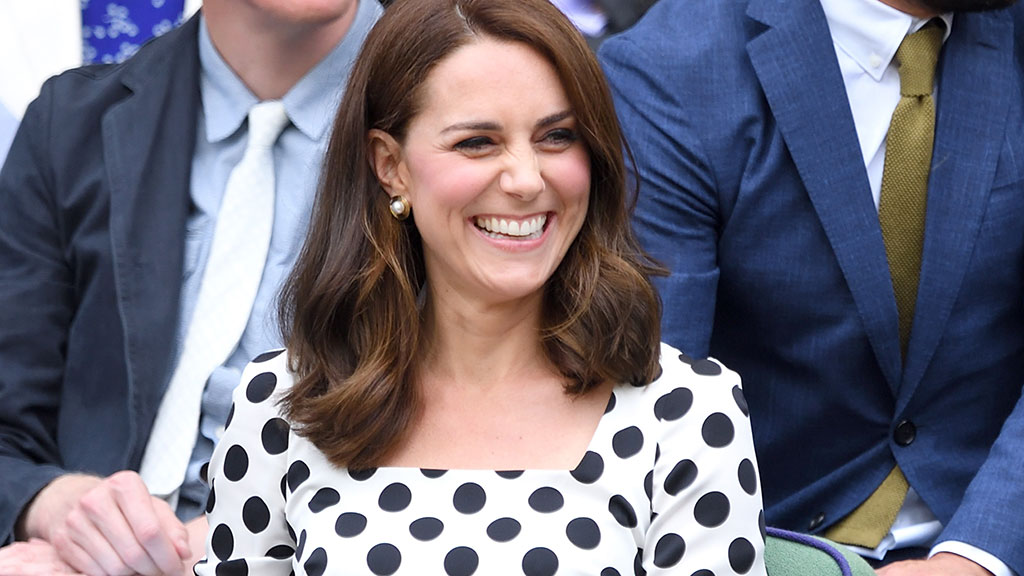 Wimbledon Starts With a Polka-Dotted Kate Middleton