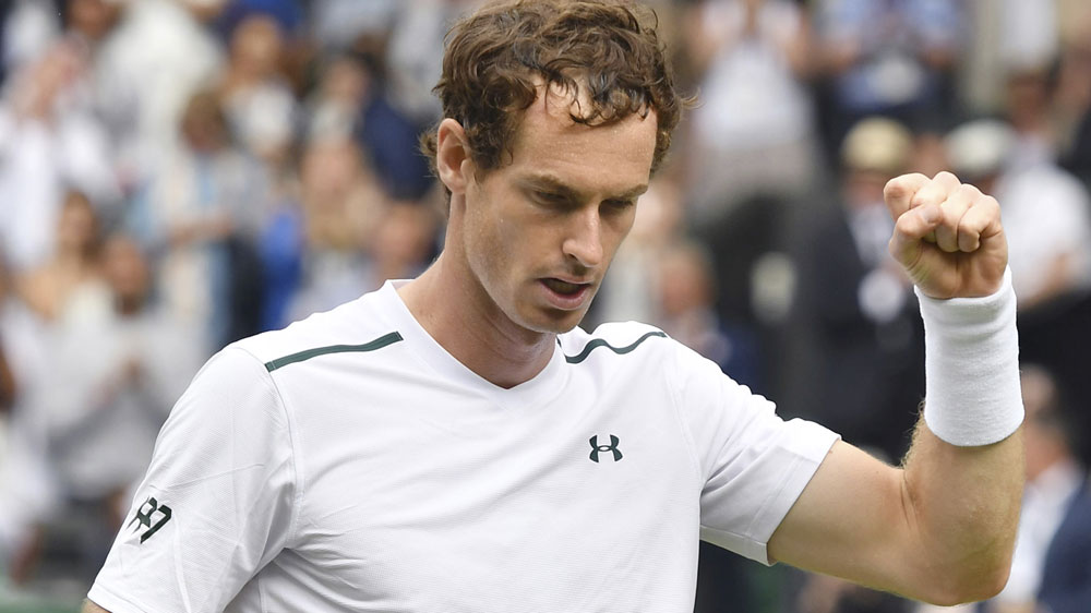 AndyMurray and Rafael Nadal cruise into Round 3 at Wimbledon