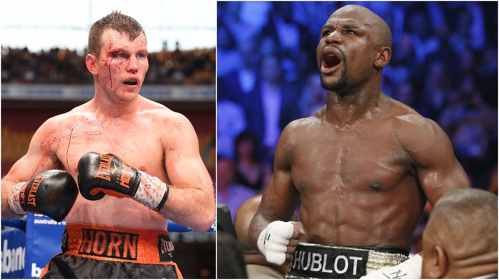 Horn has said he hopes to battle it out with boxing superstarm Floyd Mayweather. (AAP)