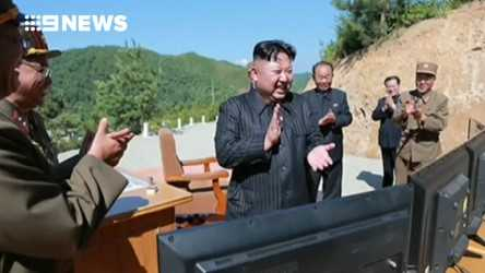 North Korean state media today proclaimed it had successfully tested an intercontinental ballistic missile. (Supplied)