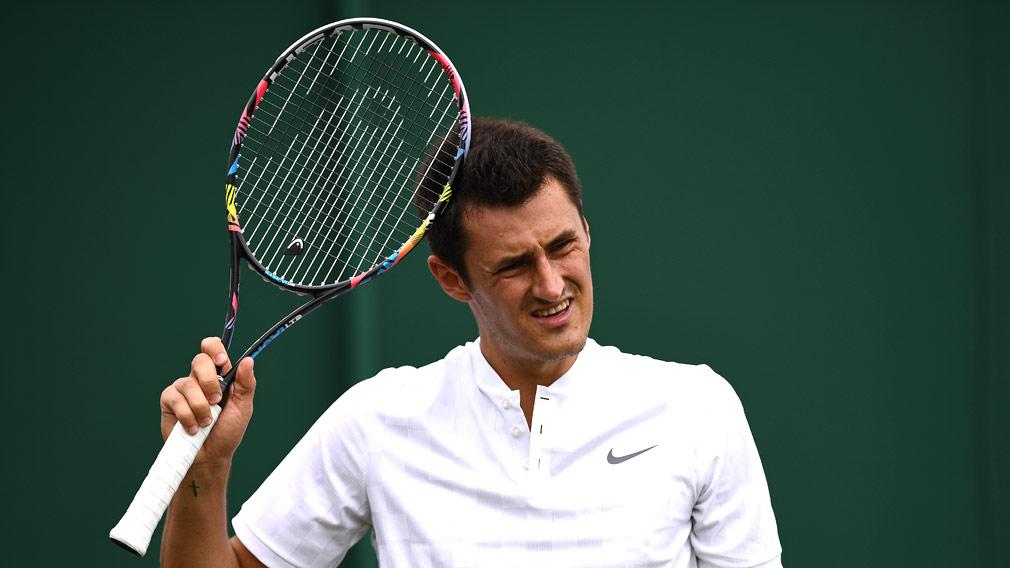 Bernard Tomic says he's 'bored' with tennis. (AFP)