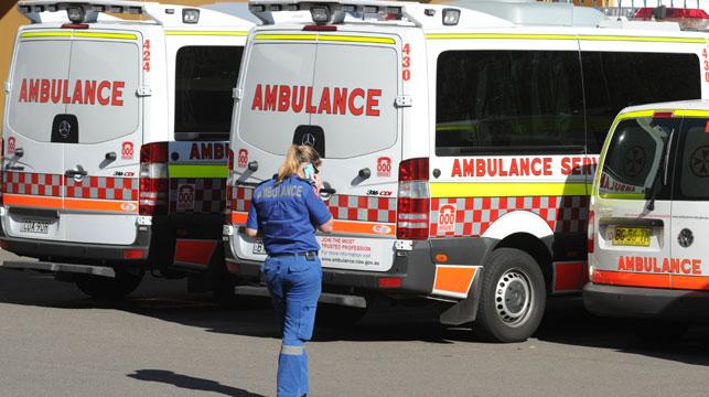 Patient surge at Sydney hospitals leaves ambulances stranded