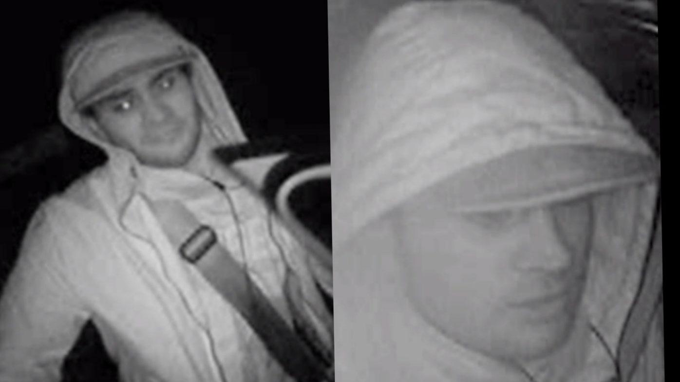 Police wish to speak to these two men regarding the robbery.