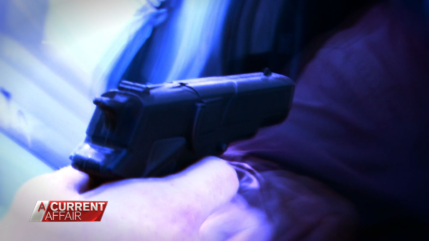 Mr Campbell says one of his passengers threatened him with a gun.