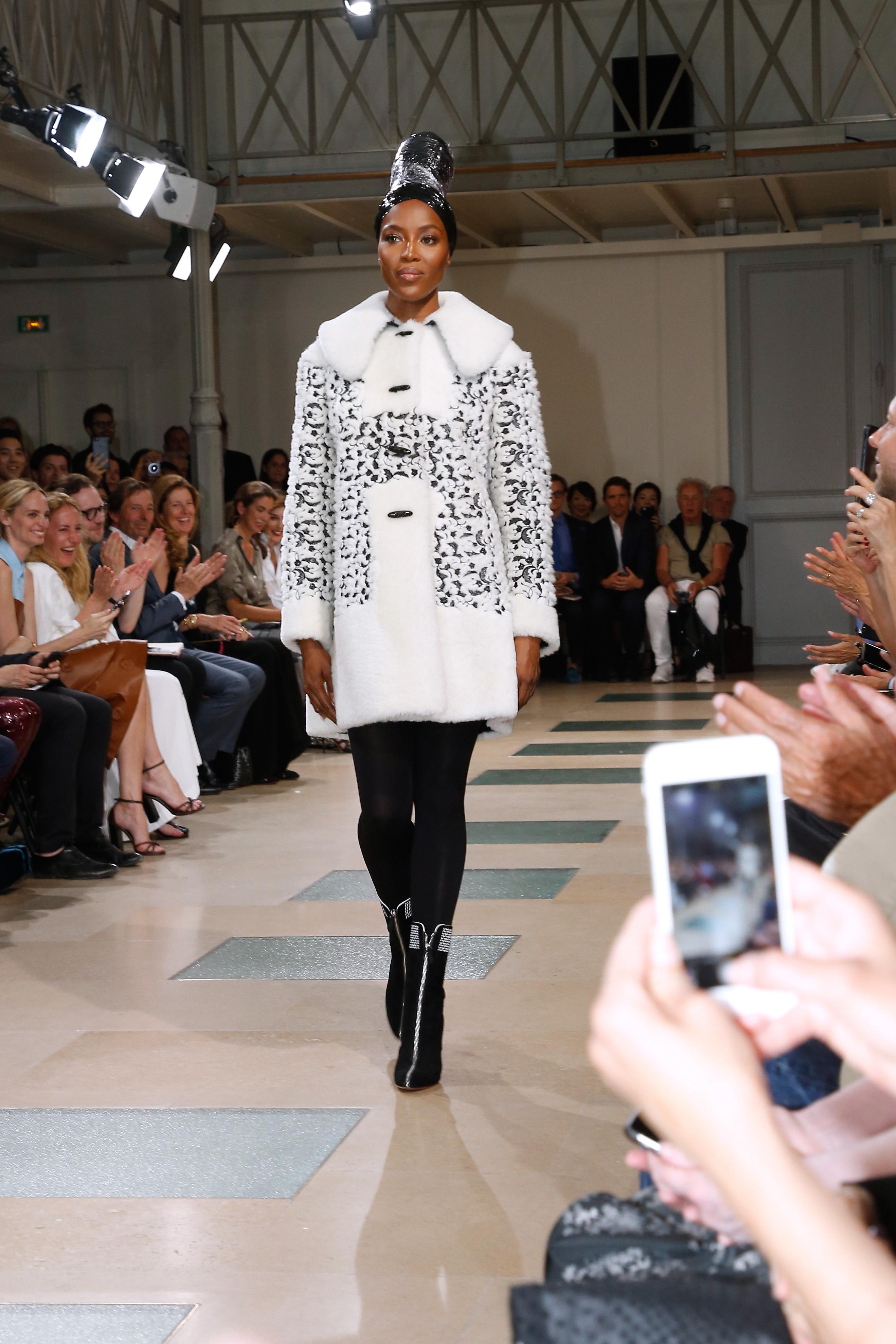 Naomi Campbell's runway return | 9Style