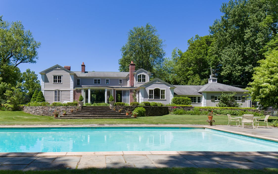 Marilyn Monroe Mansion The Home That Hosted Marilyn Monroe And Arthur Miller's Wedding Is