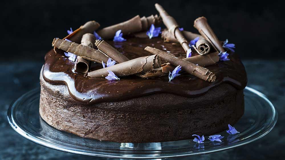 Kirsten Tibballs' decadent chocolate cake