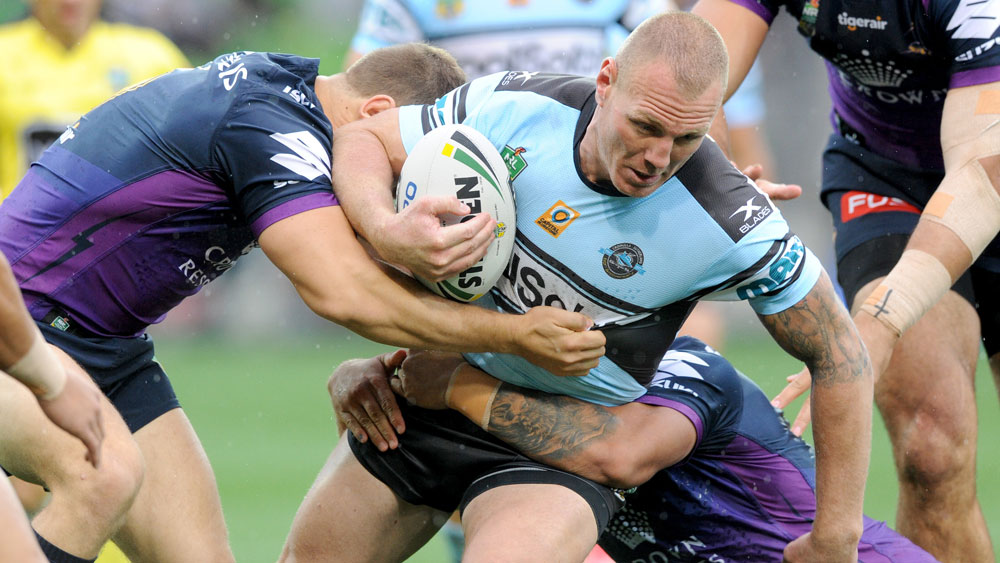 Luke Lewis has signed a one-year contract extension with the Cronulla Sharks. (AAP)