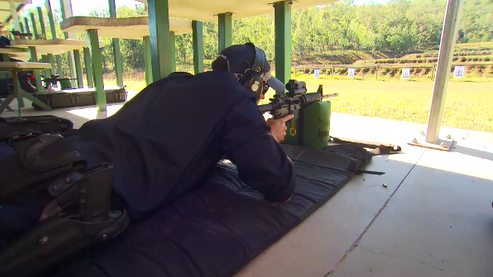 Police say the weapons will help them to deal with the new threats they now face. (9NEWS)