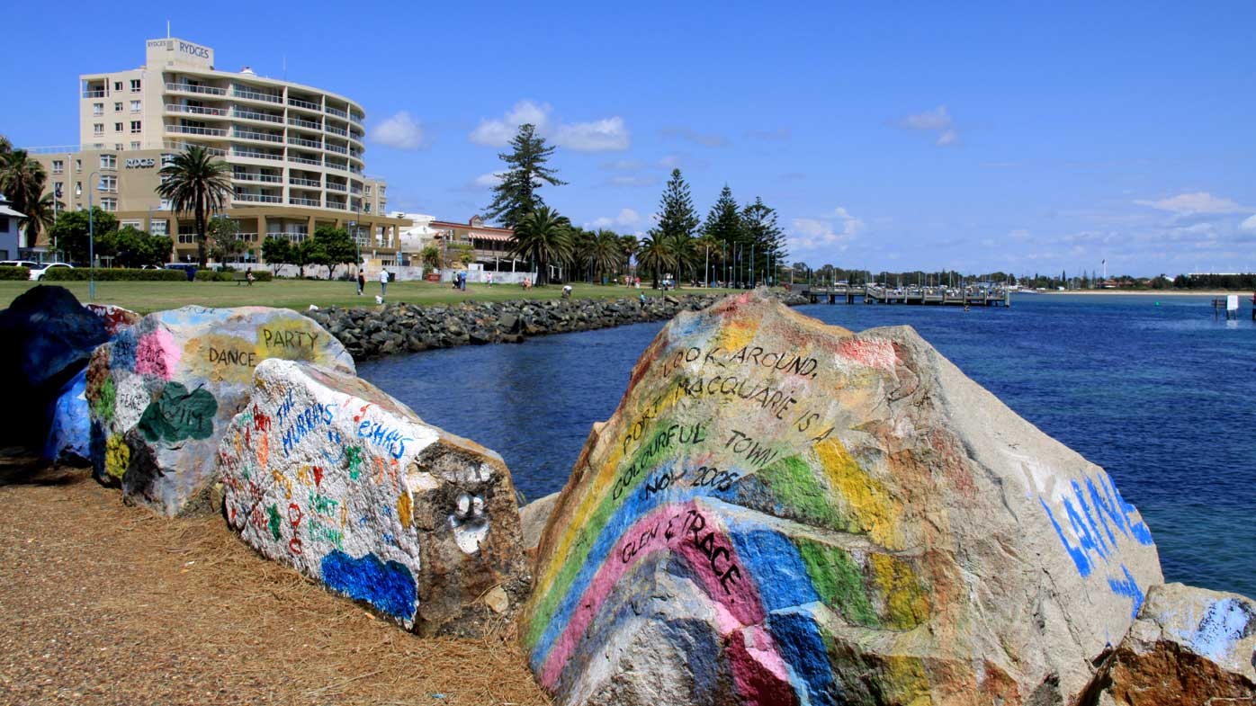 The waterfront in Port Macquarie. (AAP)
