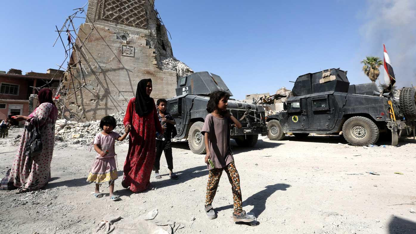 Islamic State in desperate stand in Mosul