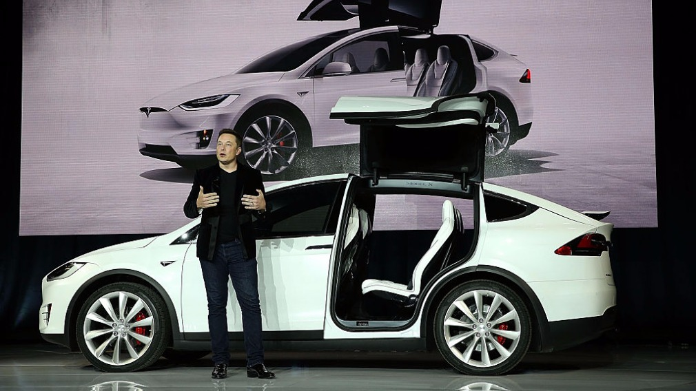 Musk is founded Tesla and SpaceX. (Getty)