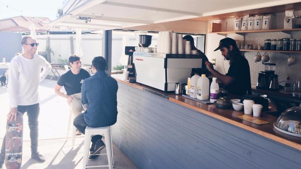 Portside Coffee in Currumbin, on the Gold Coast. (Portside Coffee via Facebook)