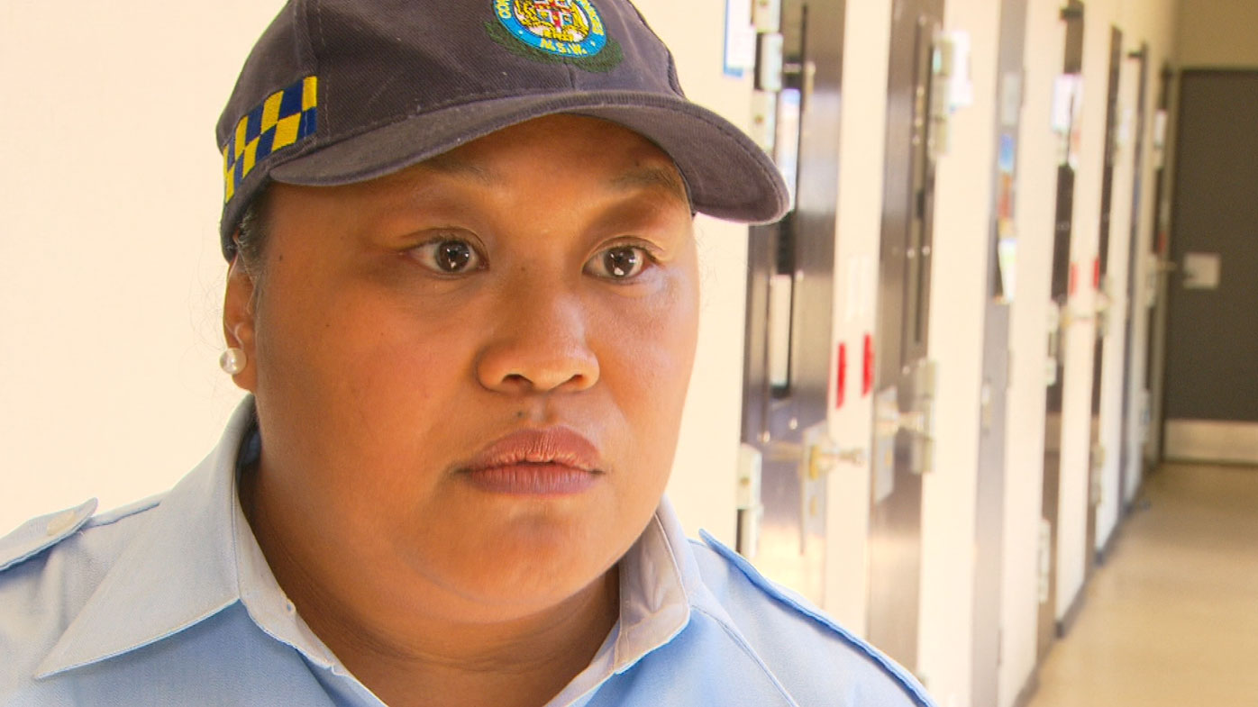 Correctional officer Fonna said connecting with inmates was important.