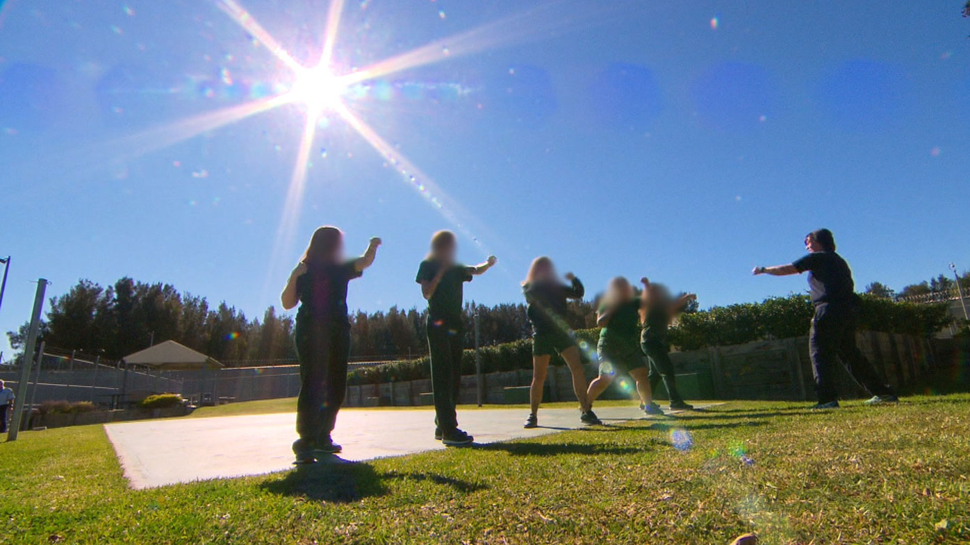 Fitness classes help inmates stay in shape.