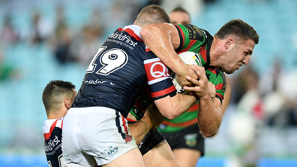 Souths' finals hopes all but extinguished in loss to Roosters