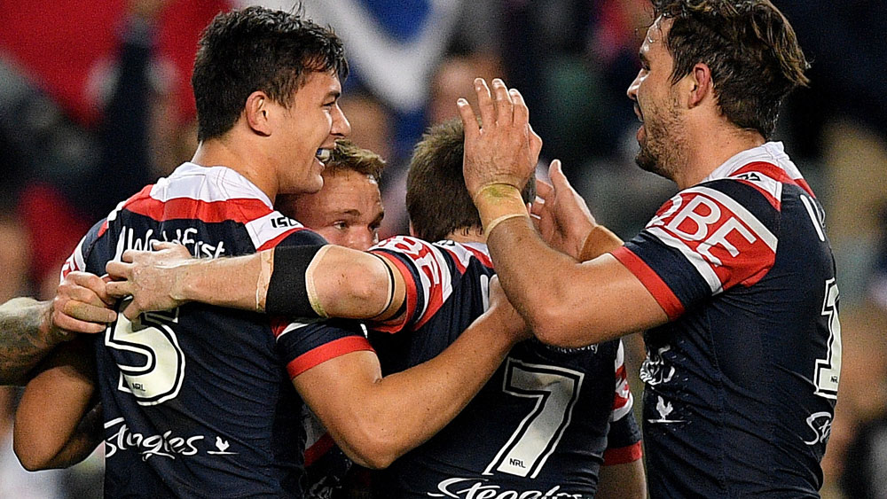 Friend stars in Roosters win over Souths